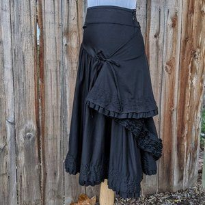 Trelise Cooper Twisted Sister Side Bustle Skirt 6